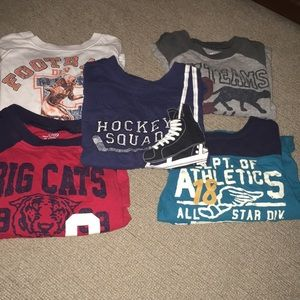 Five Children's Place Long Sleeved Tops Size 3T